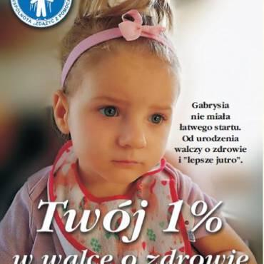 Twój 1% w walce o zdrowie Gabrysi …