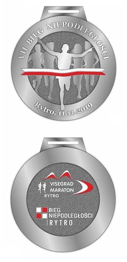 11.11.2019 r. Medal VII Bieg Niepodległości w Rytrze